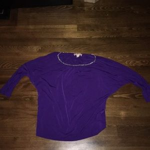 Michael Kors Tops - Michael Kors Purple Shirt